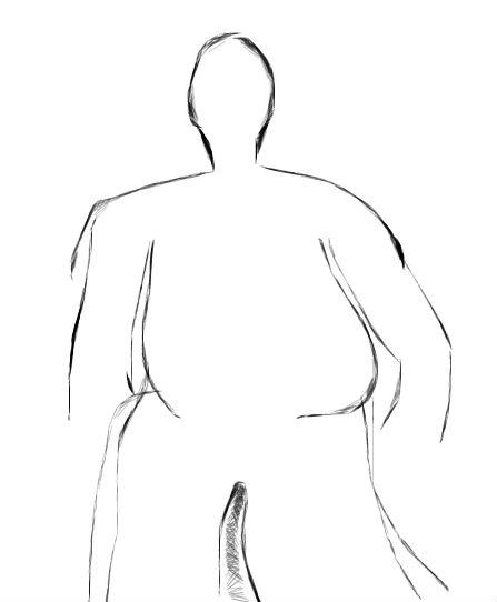 fat person