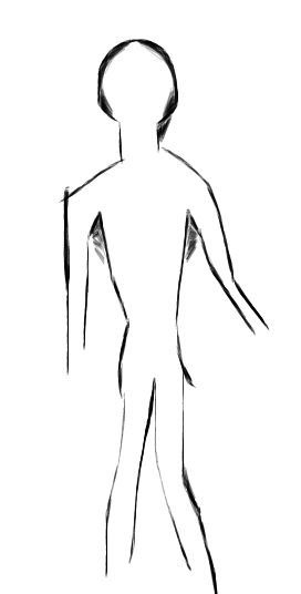 thin person